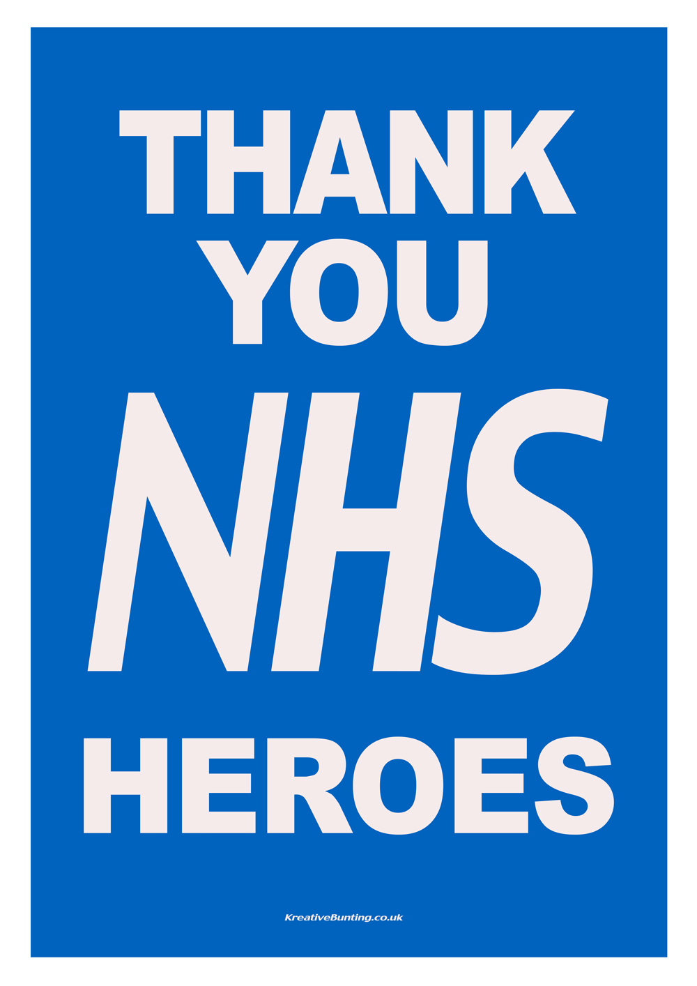Thank You NHS Poster
