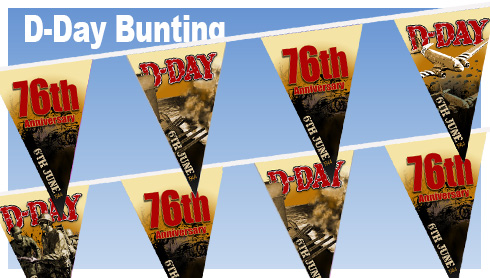 D-Day 76th Anniversary Bunting