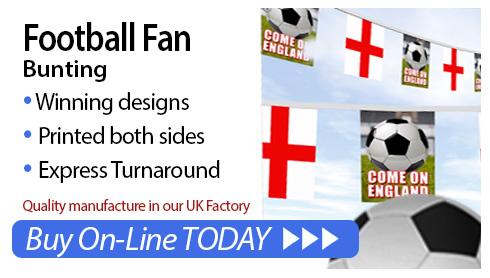 Football Bunting for sale