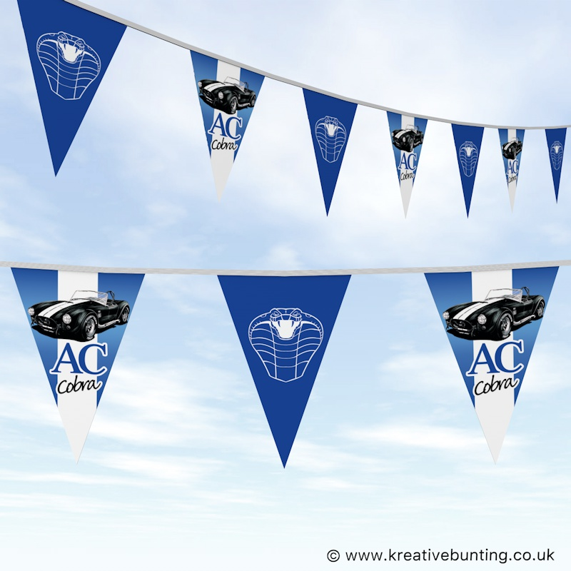 Classic Cars Bunting