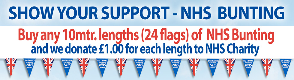 NHS Supporter Bunting