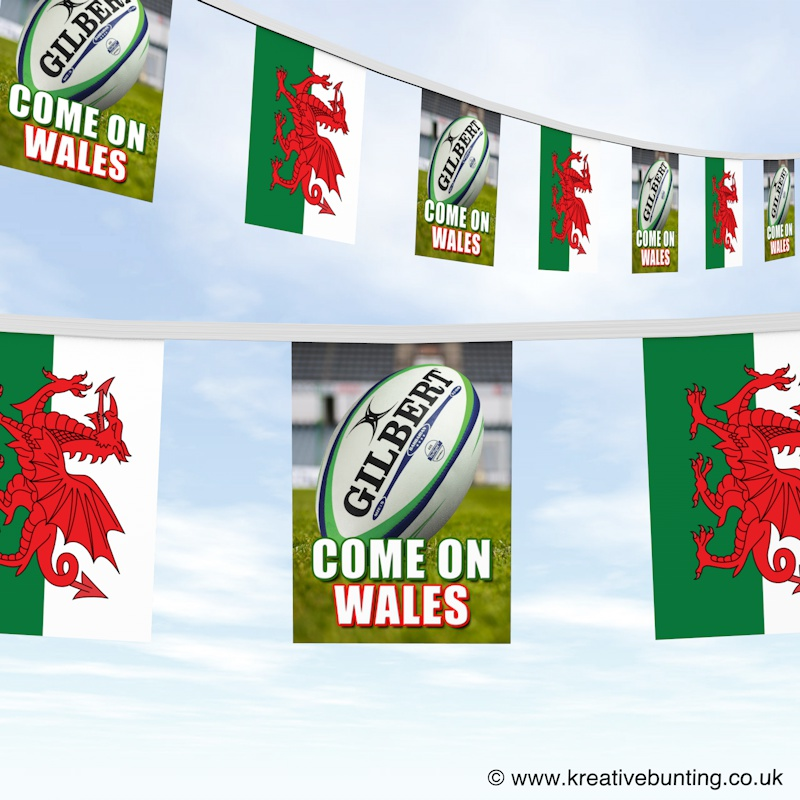 Rugby Bunting