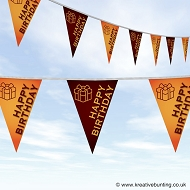 Happy Birthday Bunting - Gift Design