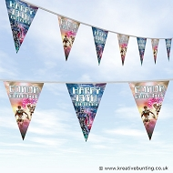 Personalised Birthday Bunting - Sci-Fi Design 01