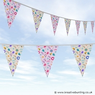 Animal Bunting - Birds and Bees Design
