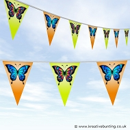 Animal Bunting - Butterfly Design 01