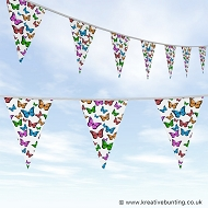 Animal Bunting - Butterfly Design 03