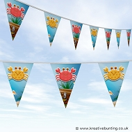 Animal Bunting - Cute Crab Design