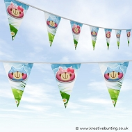 Animal Bunting - Cute Kitten Design