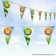 Animal Bunting - Cute Lion Design