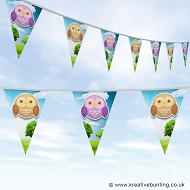 Animal Bunting - Cute Owl Design