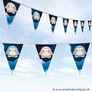 Animal Bunting - Cute Penguin Design