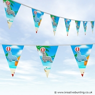Animal Bunting - Cute Sea Lion Design