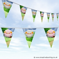 Animal Bunting - Cute Sheep Design