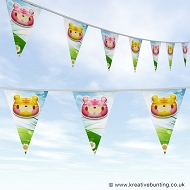 Animal Bunting - Cute Tiger Design
