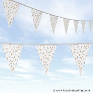 Animal Bunting - Rabbit and Carrot Design