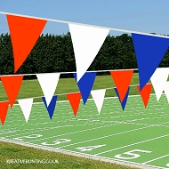 Red White and Blue PVC Bunting