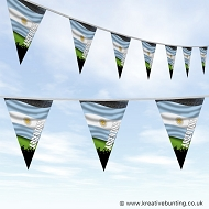 Sports Fan Bunting - Argentina Flag Design