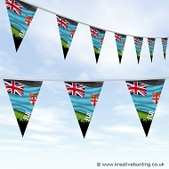 Sports Fan Bunting - Fiji Flag Design