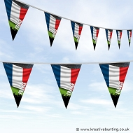 Sports Fan Bunting - France Flag Design