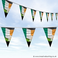 Sports Fan Bunting - Ireland Flag Design