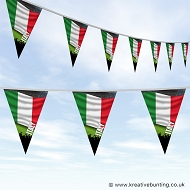 Sports Fan Bunting - Italy Flag Design