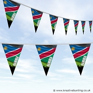 Sports Fan Bunting - Namibia Flag Design