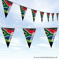 Sports Fan Bunting - South Africa Flag Design