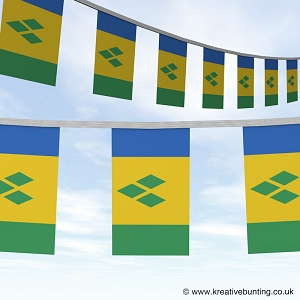 St Vincent and the Grenadines bunting