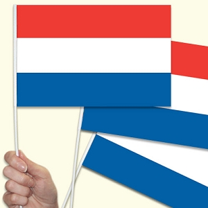 Netherlands Handwaving Flags - 15 Pack