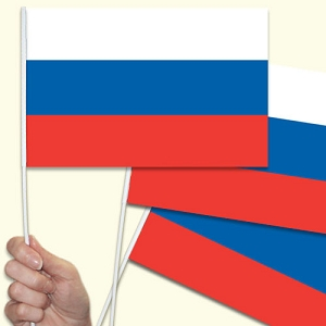 Russia Handwaving Flags - 10 Pack