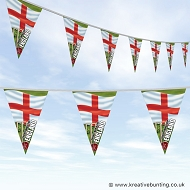 Cricket World Cup Bunting - England