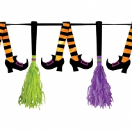 Witches Crew Tassel Pennant Banners