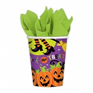 Witches Crew Paper Cups x 8