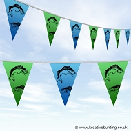 Fishing Bunting - Graphical Fish Design