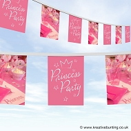 Princess Party Birthday Bunting