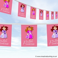 Little Princess Birthday Party Bunting
