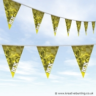 Dirtbike Off Road Motorcycle Bunting - MX Yellow