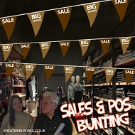 Sale/Big Savings Bunting BROWN