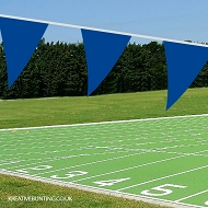BLUE School Sports Day Bunting / team event Bunting in BLUE (Single 10 mtr. length)