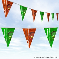 Tennis Bunting - Clay Court Design