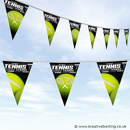 Tennis Bunting - Words Design