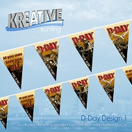 D-Day Bunting -
