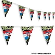 Croatia Football Bunting - Crowd Design