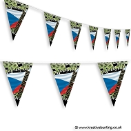 Czech Republic Football Bunting - Crowd Design