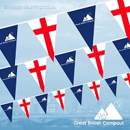 Great British Campout (England Version) Bunting