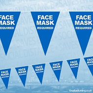 Face Masks Required Bunting
