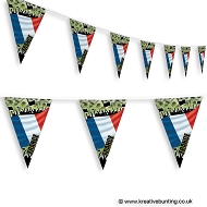 France Football Bunting - Crowd Design