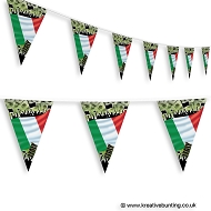 Italy Football Bunting - Crowd Design