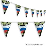 Russia Football Bunting - Crowd Design